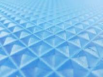 geometrische cijfers in blauwe kleuren 3d textuur Stock Foto