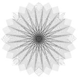Geometrische cirkel Royalty-vrije Stock Foto's