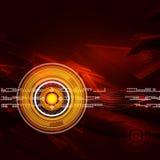Geometrische cirkel abstracte achtergrond Royalty-vrije Stock Foto