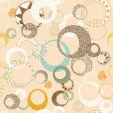 Geometrische Cirkels Stock Foto