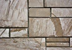 Geometrische de Muurtextuur van het Steenhuis Royalty-vrije Stock Fotografie