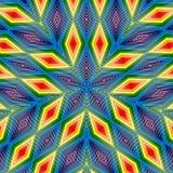 Geometrische de textuursamenvatting van de patroontegel Achtergrondillustratie vector illustratie