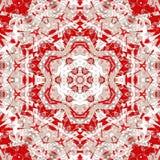 Geometrische de textuursamenvatting van de patroontegel textiel royalty-vrije illustratie