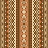 Geometrische dekorative Musterafrikanerart Lizenzfreie Stockbilder