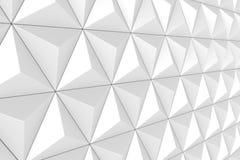 Geometrische dreieckige Beschaffenheit 3D Stockfotos