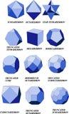 Geometrische Formen stock abbildung