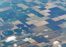 Geometrische Formen in der Landwirtschaft stockbild