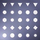 Geometrische Fotomaskers Royalty-vrije Stock Afbeelding