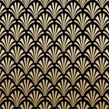 Geometrische Gatsby Art Deco Pattern Background Design vector illustratie
