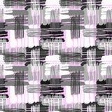 Geometrische gebogen naadloze de handambacht expressieve I van de lijnengraffiti Stock Foto's