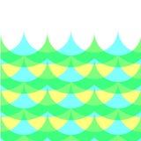 Geometrische golf Stock Afbeelding