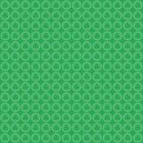 Geometrische grüne Musterkreise stockbilder