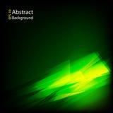 Geometrische groene abstracte achtergrond Royalty-vrije Stock Fotografie