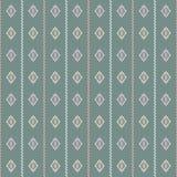 Geometrische groene laurier, koraal, roze en grijze illustratie royalty-vrije illustratie