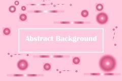 Geometrische heldere kleuren als achtergrond en dynamische vormsamenstellingen Vector graphhics stock illustratie