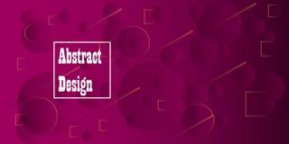 Geometrische heldere kleuren als achtergrond en dynamische vormsamenstellingen Vector graphhics vector illustratie