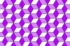 Geometrische het ontwerpachtergrond van het zeshoekenpatroon Royalty-vrije Stock Foto