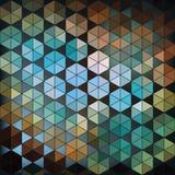 Geometrische Hexagon abstracte achtergrond royalty-vrije illustratie