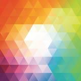 Geometrische Hintergrundmosaiken Auch im corel abgehobenen Betrag Lizenzfreie Stockfotos