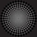Geometrische illusiesachtergrond Stock Fotografie