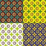 Geometrische Illustration der Vektorfliese Lizenzfreie Stockbilder