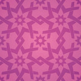Geometrische Liebes-Blumen-nahtloses Muster Lizenzfreies Stockfoto