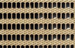 Geometrische mening Stock Foto
