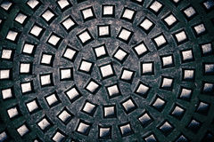 Geometrische metaalstructuur royalty-vrije stock foto