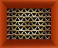 Geometrische modieuze textuur Stock Afbeelding
