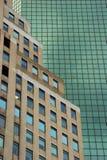 Geometrische Muster in der Architektur, unteres Manhattan Lizenzfreie Stockfotografie