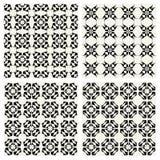 Geometrische Muster EINGESTELLT Stockfoto