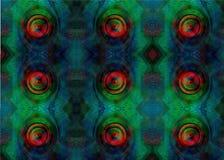 Geometrische Muster und Verzierungen Muster und Verzierungen Lizenzfreies Stockfoto