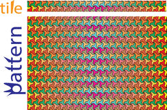 Geometrische Muster unter Verwendung der Kreise von verschiedenen Größen, verschachtelt vektor abbildung