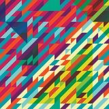 Geometrische Musterfarbe Lizenzfreie Stockfotos