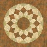 Geometrische Musterholzbeschaffenheit Lizenzfreie Stockfotos