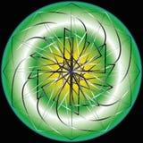 Geometrische Mustersymmetrie Stockfoto