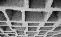 Geometrische Muur Royalty-vrije Stock Afbeelding