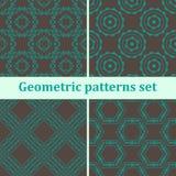 Geometrische naadloos Stock Foto's