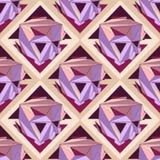 Geometrische naadloze achtergrond Stock Fotografie