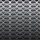 Geometrische naadloze het patroonachtergrond van golven lichte lijnen Stock Afbeelding