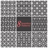 Geometrische naadloze patronen Royalty-vrije Stock Fotografie