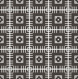 Geometrische naadloze patroonachtergrond Stock Fotografie