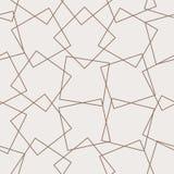 Geometrische naadloze rasterlijnen Abstracte dozenachtergrond Moderne technologie met vierkante opening Kubuscel royalty-vrije illustratie