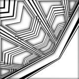 geometrische Nachrichten Stockbilder