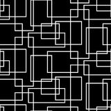 Geometrische nahtlose Beschaffenheit mit weißem restangle Lizenzfreies Stockbild