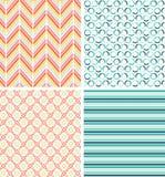 Geometrische nahtlose Muster Stockfotos