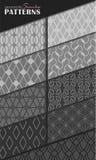 Geometrische nahtlose Muster Lizenzfreie Stockfotos