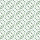 Geometrische nahtlose Verzierung des Vektors Stockfotografie