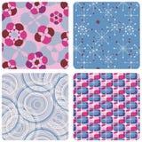 Geometrische patronen Stock Illustratie