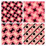 Geometrische patronen Stock Afbeelding